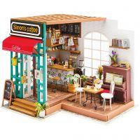 Miniaturerum, Kaffebar, H: 19 cm, L: 22,6 cm, B: 19,4 cm, 1 stk.