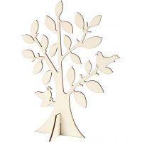 Træ, H: 24 cm, B: 18,4 cm, 1 stk.