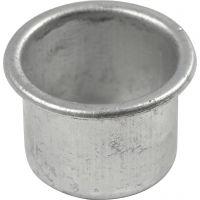 Lysmanchetter, H: 18 mm, diam. 25 mm, hulstr. 22 mm, 12 stk./ 1 pk.