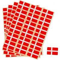 Selvklæbende flag, str. 15x22 mm, 72 stk./ 1 pk.