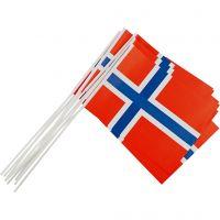 Papirflag, str. 20x25 cm, 10 stk./ 1 pk.