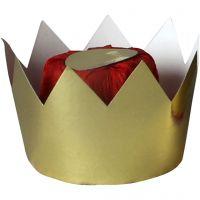 Dronningekrone, H: 7 cm, diam. 9 cm, 1 stk.