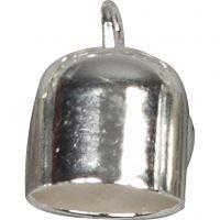 Enderør, diam. 8 mm, forsølvet, 50 stk./ 1 pk.