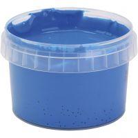PRIMO fingermaling, blå, 250 ml/ 1 fl.