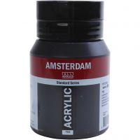 Amsterdam acrylmaling, lamp black (771), 500 ml/ 1 fl.