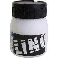 Linoleumssværte, hvid, 250 ml/ 1 ds.