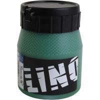 Linoleumssværte, grøn, 250 ml/ 1 ds.