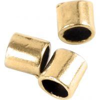 Enderør, str. 2x2 mm, hulstr. 1,4 mm, forgyldt, 80 stk./ 1 pk.