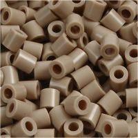 Rørperler, str. 5x5 mm, hulstr. 2,5 mm, medium, beige (32248), 1100 stk./ 1 pk.