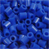 Rørperler, str. 5x5 mm, hulstr. 2,5 mm, medium, mørk blå (32232), 1100 stk./ 1 pk.