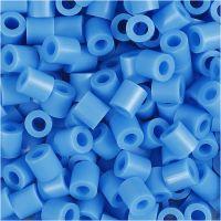 Rørperler, str. 5x5 mm, hulstr. 2,5 mm, medium, blå (32238), 1100 stk./ 1 pk.