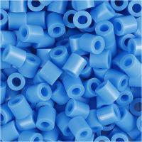 Rørperler, str. 5x5 mm, hulstr. 2,5 mm, medium, blå (32238), 6000 stk./ 1 pk.