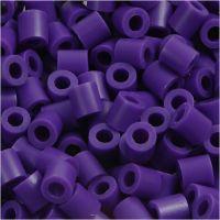 PhotoPearls, str. 5x5 mm, hulstr. 2,5 mm, mørk lilla (11), 1100 stk./ 1 pk.