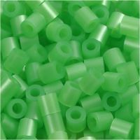 PhotoPearls, str. 5x5 mm, hulstr. 2,5 mm, grøn perlemor (22), 1100 stk./ 1 pk.