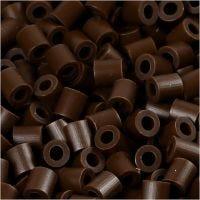 PhotoPearls, str. 5x5 mm, hulstr. 2,5 mm, mørk brun (2), 6000 stk./ 1 pk.