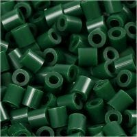 PhotoPearls, str. 5x5 mm, hulstr. 2,5 mm, mørk grøn (9), 6000 stk./ 1 pk.