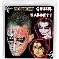 Eulenspiegel - Scary Cabinet, ass. farver, 1 sæt