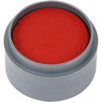 Grimas Ansigtsmaling, klar rød, 15 ml/ 1 ds.