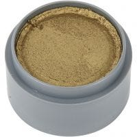 Grimas Ansigtsmaling, guld, 15 ml/ 1 ds.