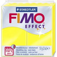 FIMO® Effect, neon gul, 57 g/ 1 pk.
