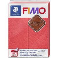 FIMO® Leather Effect , watermelon (249), 57 g/ 1 pk.