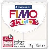 FIMO® Kids ler, hvid, 42 g/ 1 pk.