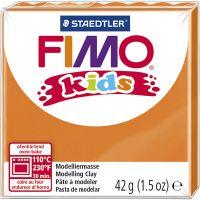 FIMO® Kids ler, orange, 42 g/ 1 pk.