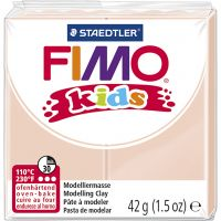 FIMO® Kids ler, lys pudder, 42 g/ 1 pk.