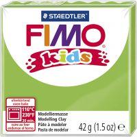 FIMO® Kids ler, lys grøn, 42 g/ 1 pk.