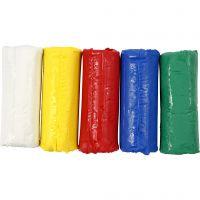 Soft Clay Modellervoks, H: 9,5 cm, ass. farver, 400 g/ 1 spand