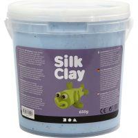 Silk Clay®, neon blå, 650 g/ 1 spand