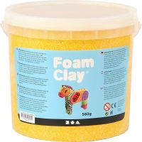 Foam Clay®, gul, 560 g/ 1 spand