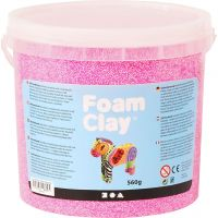 Foam Clay®, neon pink, 560 g/ 1 spand