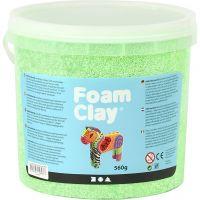 Foam Clay®, neon grøn, 560 g/ 1 spand