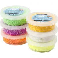Foam Clay®, forårsfarver, 6x14 g/ 1 pk.