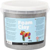 Foam Clay®, metallic, sølv, 560 g/ 1 spand