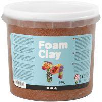 Foam Clay®, brun, 560 g/ 1 spand