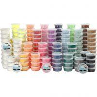 Foam Clay®, ass. farver, 22x10 ds./ 1 pk.
