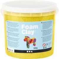 Foam Clay®, metallic, gul, 560 g/ 1 spand