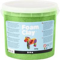 Foam Clay®, metallic, grøn, 560 g/ 1 spand
