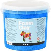 Foam Clay®, metallic, blå, 560 g/ 1 spand