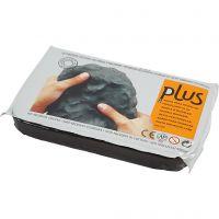 Selvhærdende ler, sort, 12x1000 g/ 1 pk.