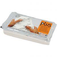 Selvhærdende ler, hvid, 12x1000 g/ 1 pk.