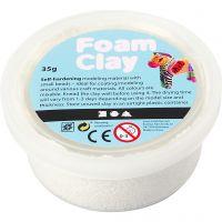 Foam Clay®, hvid, 35 g/ 1 ds.