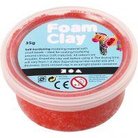 Foam Clay®, rød, 35 g/ 1 ds.