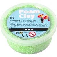 Foam Clay®, neon grøn, 35 g/ 1 ds.