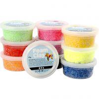 Foam Clay®, ass. farver, 10x35 g/ 1 pk.