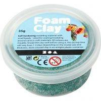 Foam Clay®, mørk grøn, 35 g/ 1 ds.