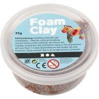 Foam Clay®, brun, 35 g/ 1 ds.