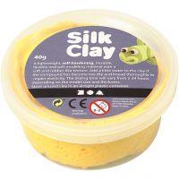Silk Clay®, gul, 40 g/ 1 ds.